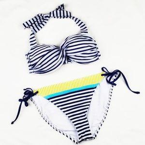 Sperry Top-Sider | Bikini Nautical Blue Striped